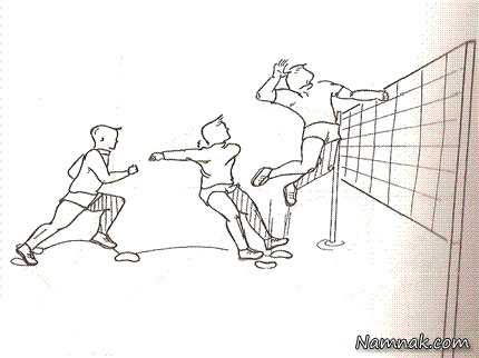 دانلود پاورپوینت تجزیه و تحلیل و تمرین تکنیک اسپک در والیبال