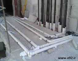 اصول و قوانین لوله کشی گاز ساختمان
